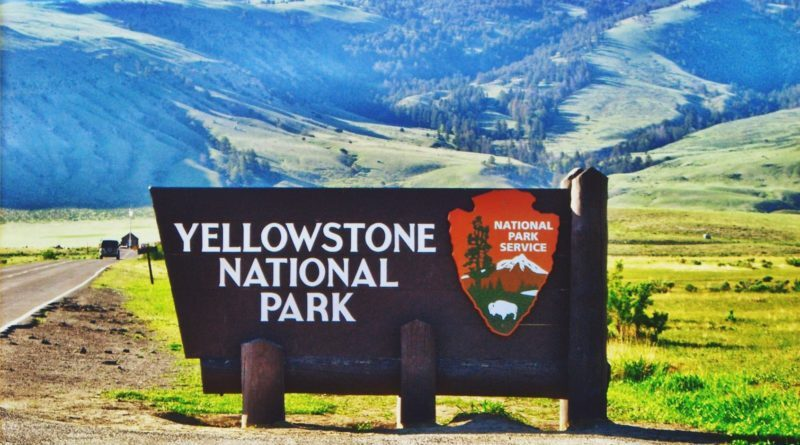 Beautiful Yellowstone National Park in U.S(United States)