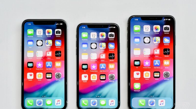 Apple Iphone X amazing apple series phone