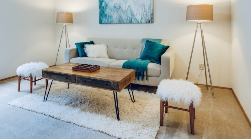 how to make a big couch look smaller